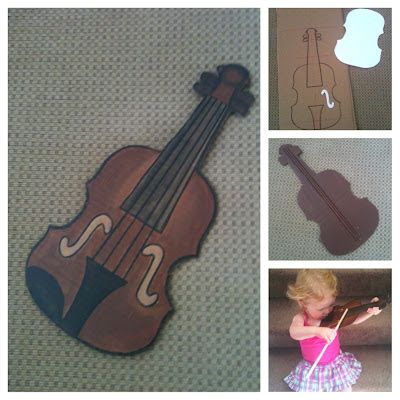 The Intentional Momma: Toddler Violin!
