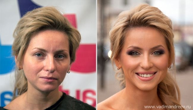 makeuphall:  22 Amazing Before and After Makeup Photos by Vadim Andreev