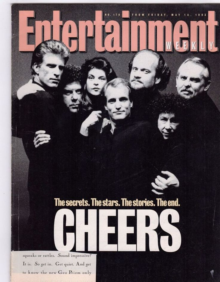 CHEERS TV SHOW   ENTERTAINMENT WEEKLY MAY 14 1993