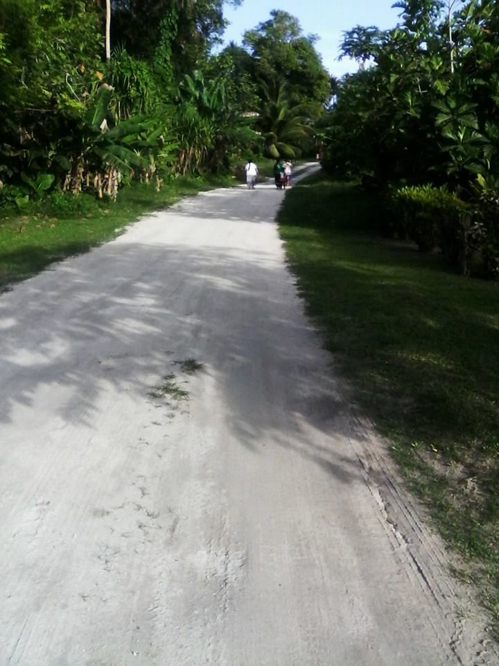This is the type of Roads that Rotuma has, White Sand (Natural)