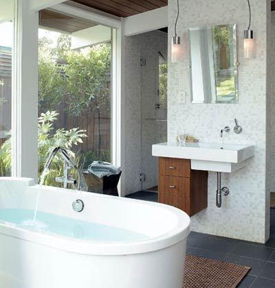 Small Bathroom Design Idea: Sink!