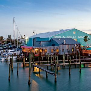 "Visitor photo:  ""The Wharf Seafood Restaurant & Bar on Pass-A-Grille...great places to eat and hang out!"""