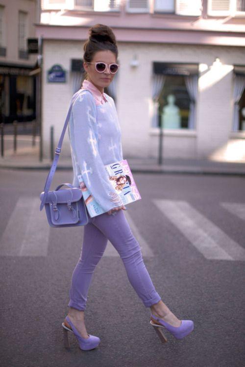 Pretty shades of lilac