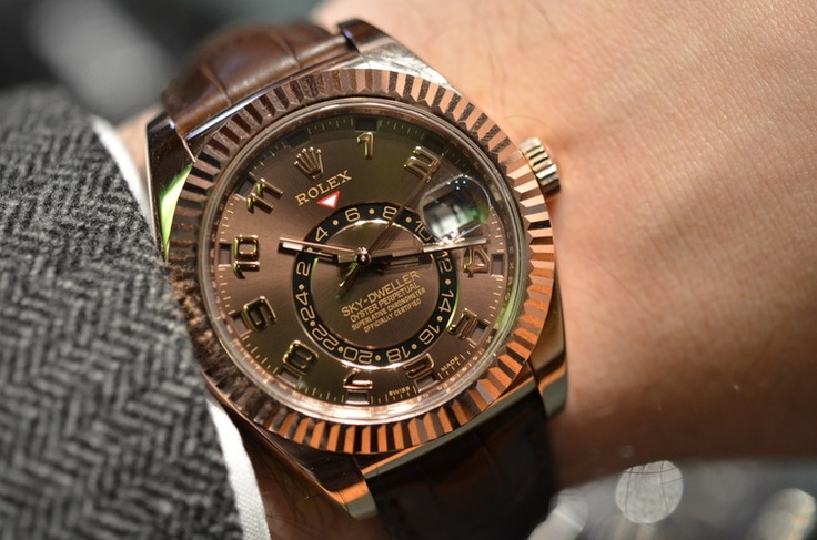 #Rolex Sky-Dweller men look