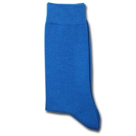 Democratique Socks Originals Solid Henri Blue