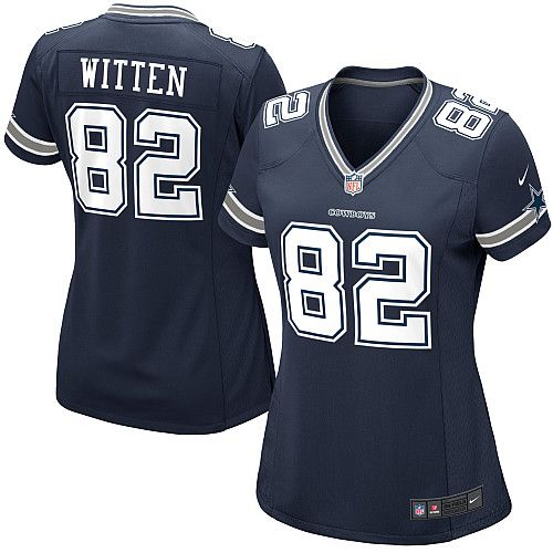 Jason Witten Women's Jersey #82 Limited Navy Blue Team Color Nike NFL Dallas Cowboys Jersey in low prices