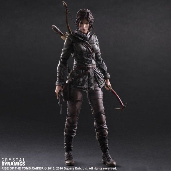 ToyzMag.com » Lara Croft Play Art Kai – Rise of The Tomb Raider