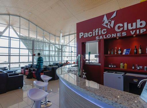 Pacific Club Salones VIP en Aeropuerto El Loa (CJC) in Calama, Antofagasta, Chile.