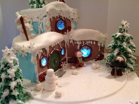 Gingerbread Hobbit Hole! Squeee!  Cake Wrecks - Home - The 12 Best Gingerbread Houses of 2013