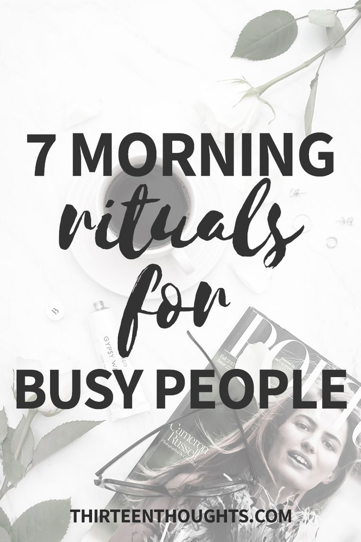 Morning Rituals for Busy People, Morning Rituals for Busy People, Morning Routines, busy schedule, wellness, mornings, morning rituals via @Paula13t