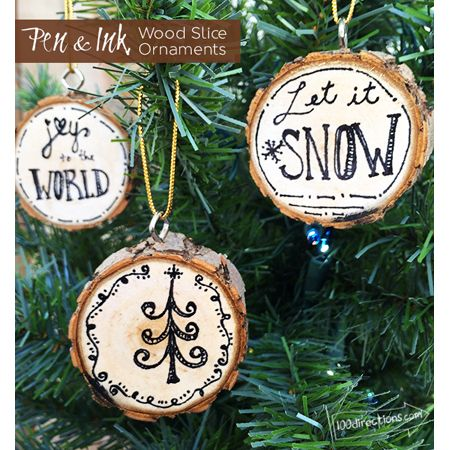 DIY Farmhouse Style Christmas Ornaments - The Cottage Market