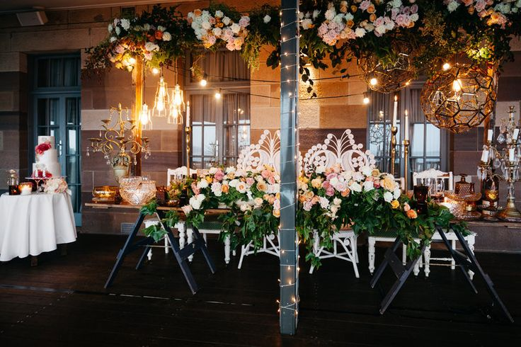 Magical reception at Gunners Barracks Tea Rooms - She Designs Events // Hilary Cam Photography