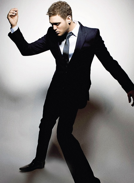 Michael Buble. Love him! Sexy and can Sing! :)