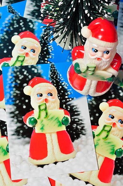 10 x Kerstkaart Kerstman - Popjes Art - 8,50