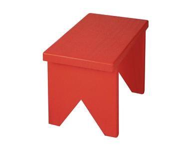 banco vermelho tok stok R$88,00