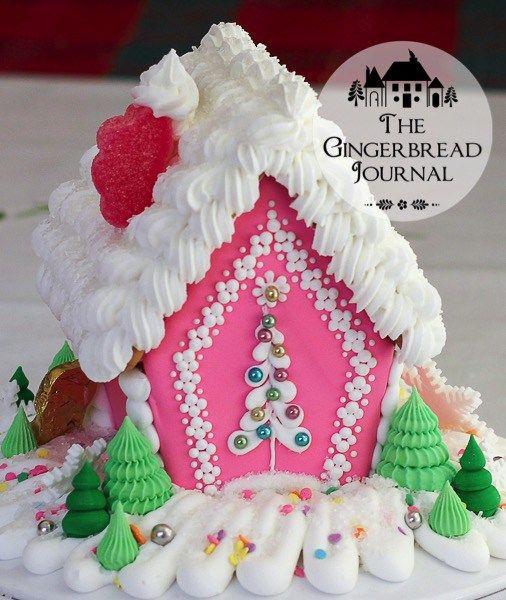 Gingerbread House C www.gingerbreadjournal.com; free tutorial www.gingerbreadjournal.com