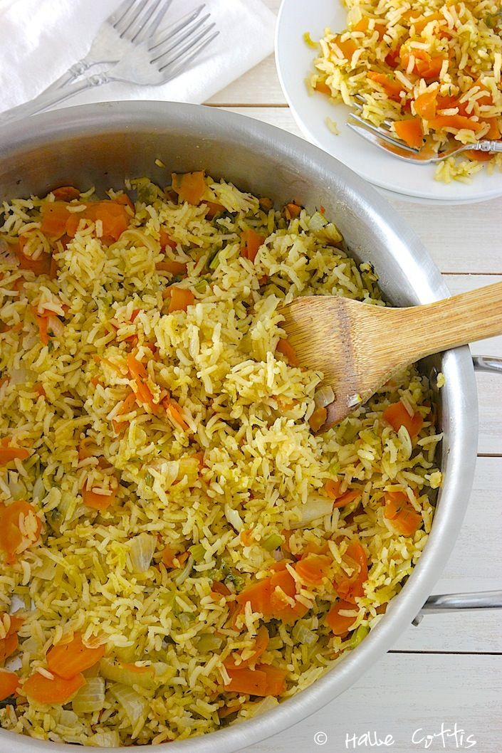 The Best Organic Rice Pilaf Recipe That I Have Ever Made! - Whole Lifestyle Nutrition | Organic Recipes | Holistic Recipes