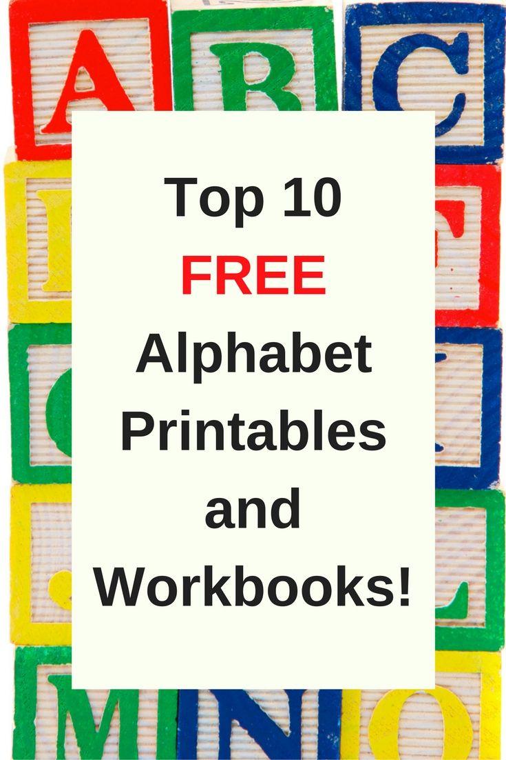 Free Printable Preschool Alphabet Worksheets