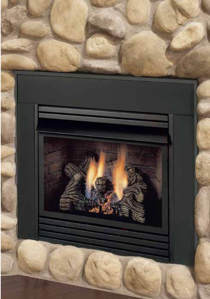 25 best ideas about gas fireplace inserts on pinterest for Modern gas insert fireplace