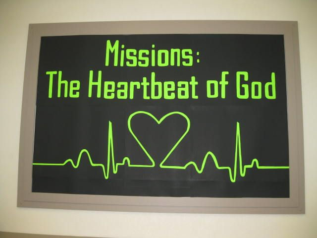 Missions Conference Bulletin Board
