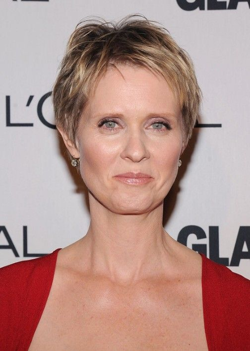 Short+Layered+Hairstyles+For+Women+Over+50 | Layered Short Pixie Cut – Short Hairstyles for Older Women Over 50 ...