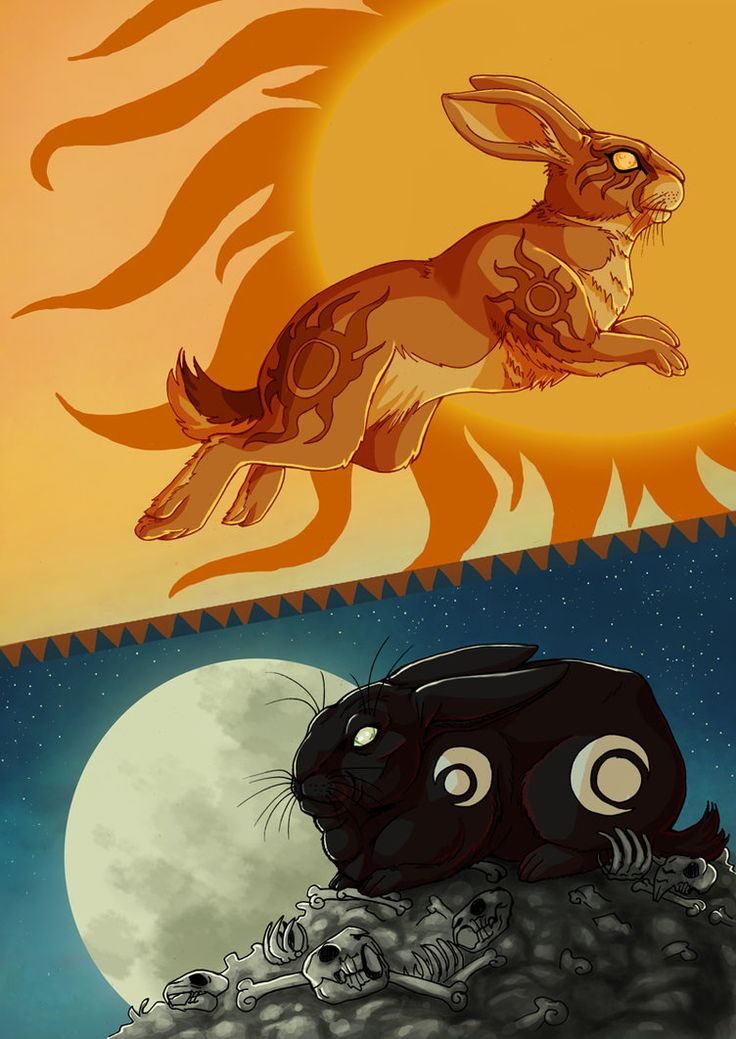 Watership Down - Frith and Inle by ~fiszike on deviantART