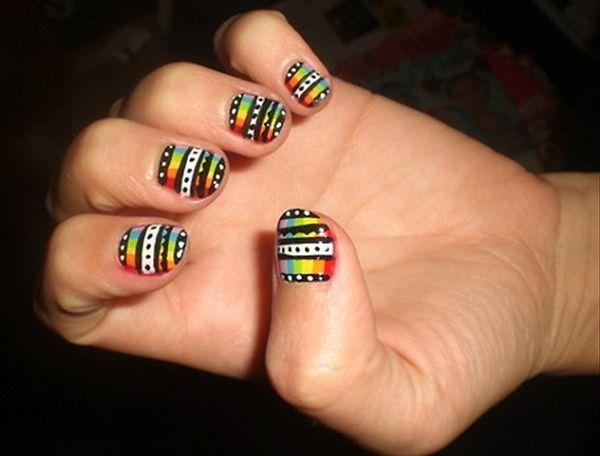 Bob Marley Nail Designs/ Rethro