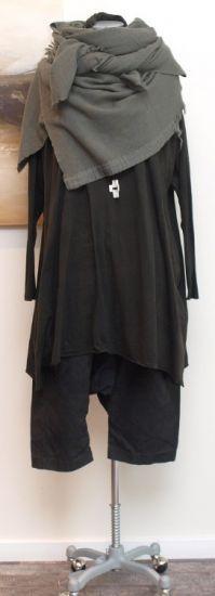 rundholz black label - Big Shirt Turtle Neck moos - Winter 2014 - stilecht - mode für frauen mit format...