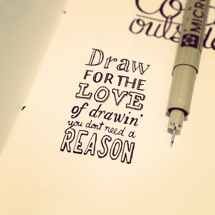 Drawing Smooth Lines Quotes : Best ideas about hand drawn lettering on pinterest