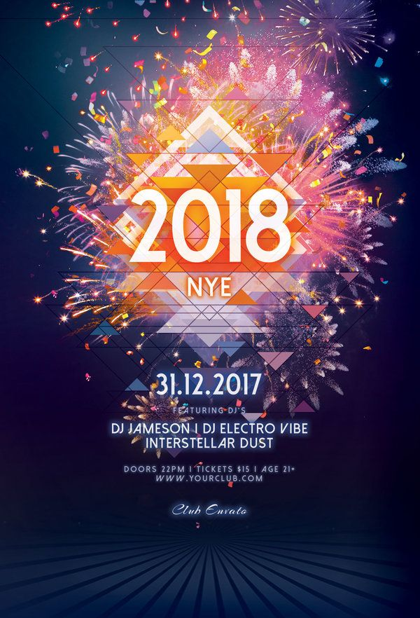 688 best Flyer Design Templates images on Pinterest Flyers - new year brochure template