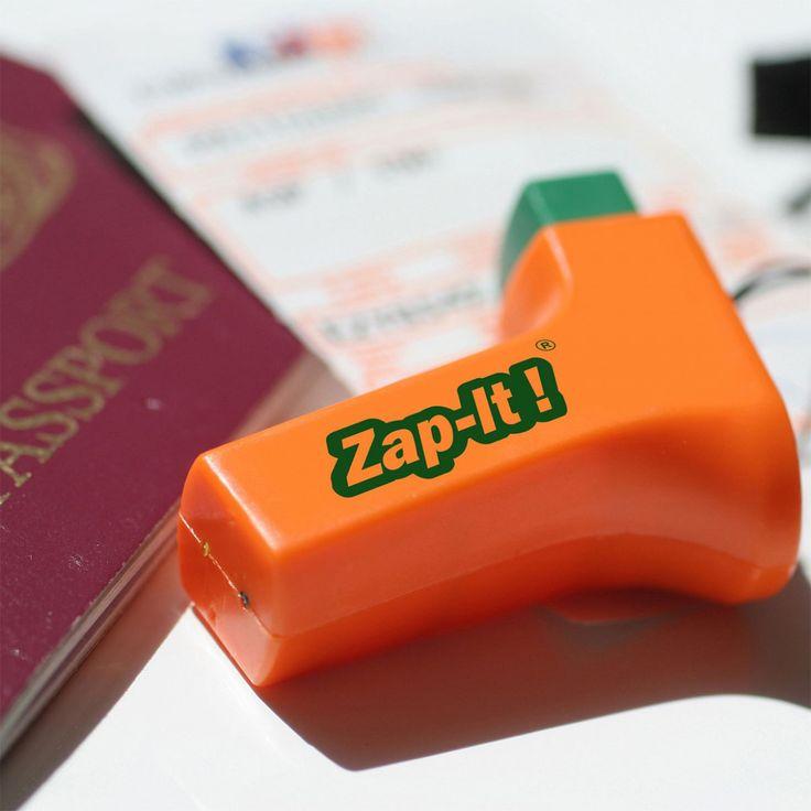 Zap-It! L'arme contre la douleur et les démangeaisons qui apparaissent après les piqûres de moustiques.