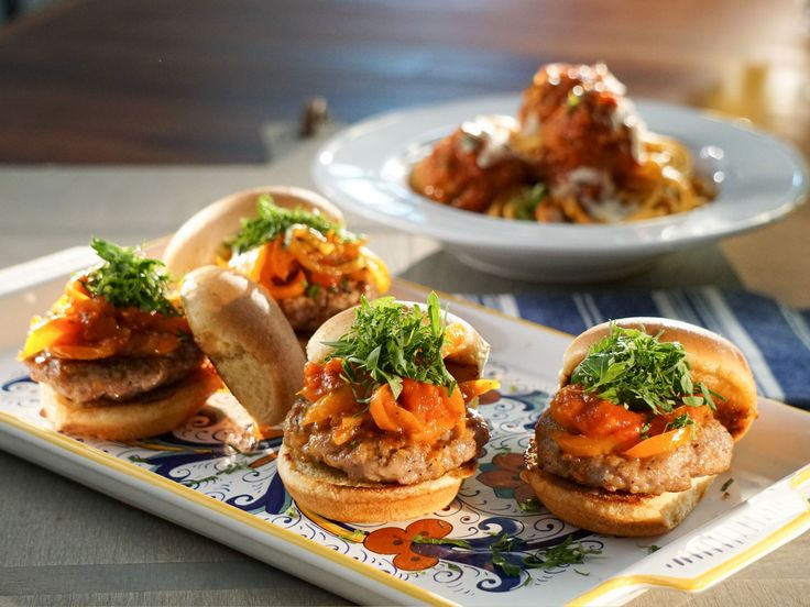 17 best images about valerie bertinelli recipes on pinterest sausage and pepper sliders recipe from valeries home cooking via food network forumfinder Gallery
