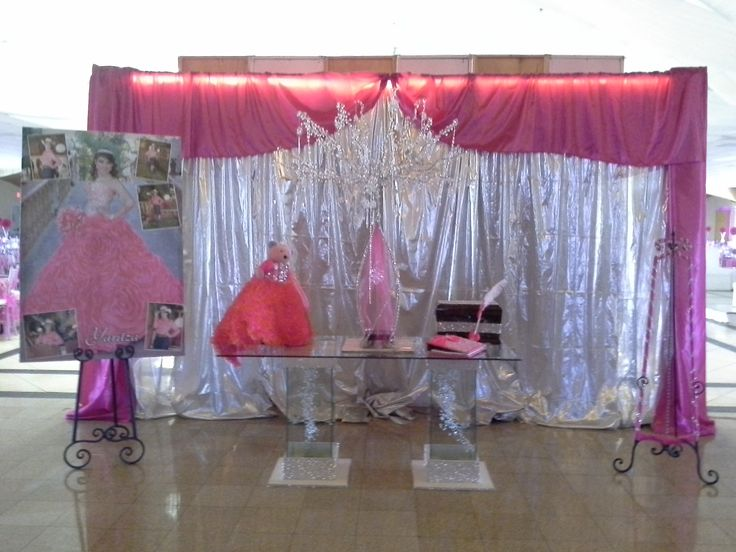 24 best quincea eras decoraciones images on pinterest - Decoraciones de salon ...