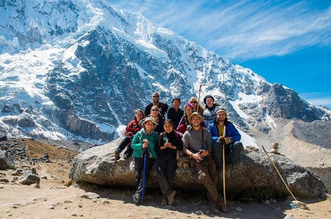 5-Day Salkantay Trek to Machu Picchu with Optional Hot Spring Bath Are you looking for adventure trek to Machu Picchu? Experience the Salkantay trek to Machu Picchu in 5 days with qualified guides. Avoid spending the whole day travelling. This hiking tour of Machu Picchu will really let you enjoy your vacation in Peru, and it's for people of all ages. It starts and finishes at your hotel in Cusco.Day 1: Cusco – Soraypampa (L, D)We'll leave Cusco at 4:30am by bus, and dri...
