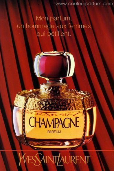 """""""Yvresse"""" (Champagne) de Yves Saint Laurent - Parfum"""