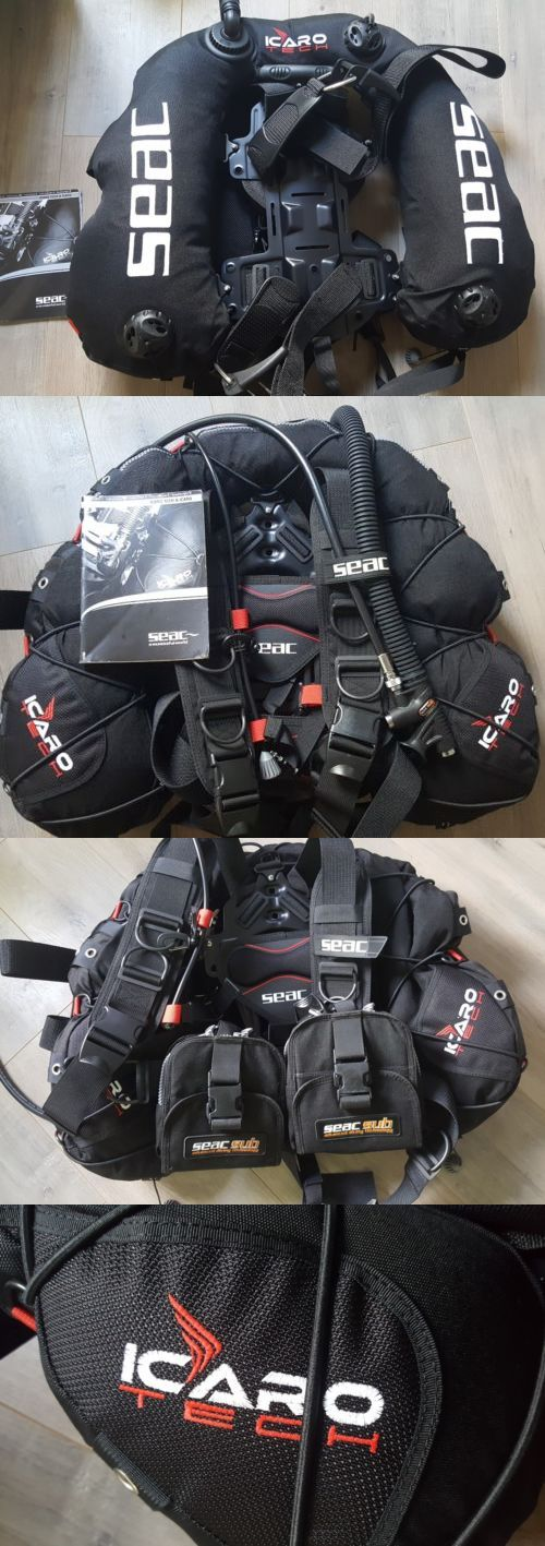 Buoyancy Compensators 16053: Scuba Bcd Seac Tec Icaro Bk Red New In Bag With Manual Size Xl-Xxl Retail$600. -> BUY IT NOW ONLY: $375 on eBay!