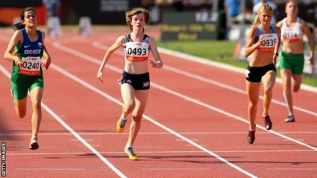 IPS Athletics: Sophie Hahn wins 100m gold in Lyon