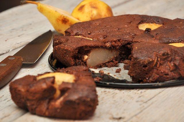 Körtés-mogyorós csokitorta