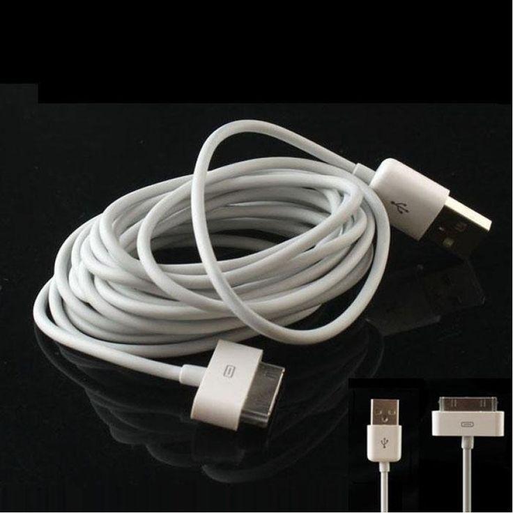 รีบเลยโปรโมชั่น<SP>2M 6FT USB Date Sync Charger Cable Cord For iphone 4 4S 3G 3GS ipad - intl++2M 6FT USB Date Sync Charger Cable Cord For iphone 4 4S 3G 3GS ipad - intl Color exactly as shown in the pictures Weight: Approx. 45g Length: 3M (~10ft) 30piniPodconnectorat&nb ...++