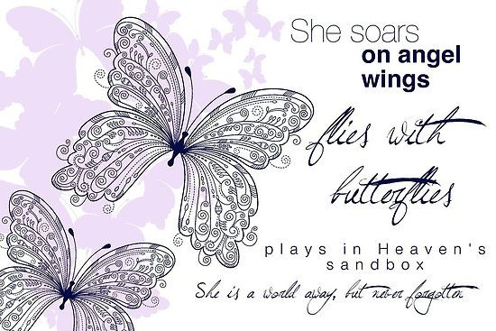 "mom angel quotes and photos | Missing Our Angel: ""She Soars On Angel Wings"" by Franchesca Cox ..."
