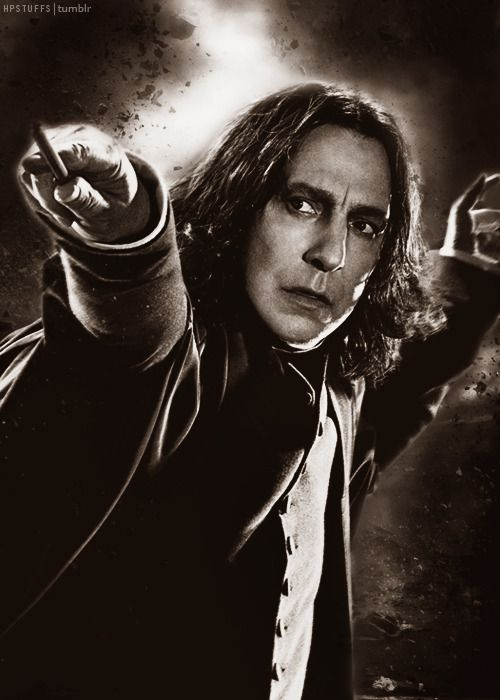 RIP Alan Rickman who made me realize life should always have love
