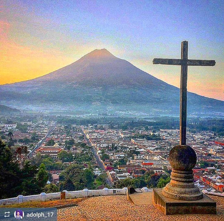 Cerro de la Cruz #Antigua #Guatemala  So many stairs- so much fun!