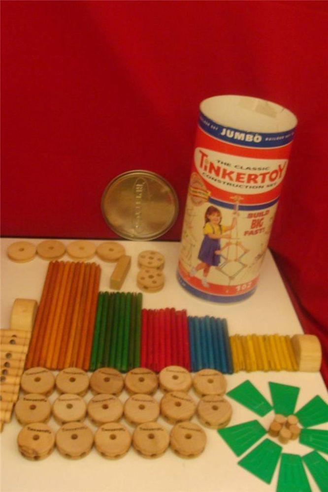 Jumbo Tinker Toys 50