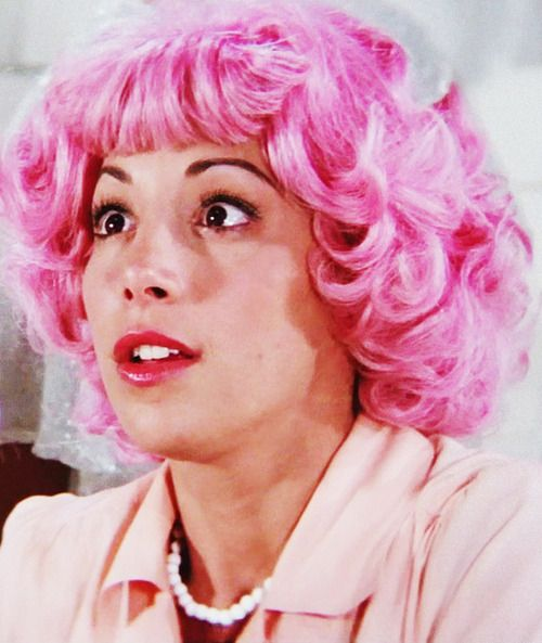 Frenchy during Beauty School Dropout - Grease