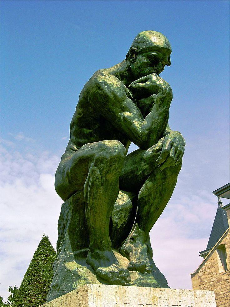 1907 The Thinker, Rodin - The Thinker - Wikipedia, the free encyclopedia