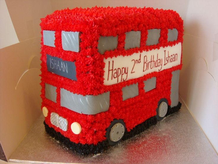 red bus cake - Google Search