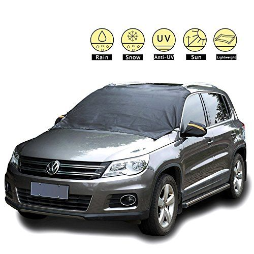 Magnetic Ice, Snow, Frost Guard Windshield Cover for Car, Truck, SUV – Protective All Season Waterproof Windproof Window Screen with Magnet Mirror Covers – Winter Auto Gear for Men, Women Drive. For product info go to:  https://www.caraccessoriesonlinemarket.com/magnetic-ice-snow-frost-guard-windshield-cover-for-car-truck-suv-protective-all-season-waterproof-windproof-window-screen-with-magnet-mirror-covers-winter-auto-gear-for-men-wo/
