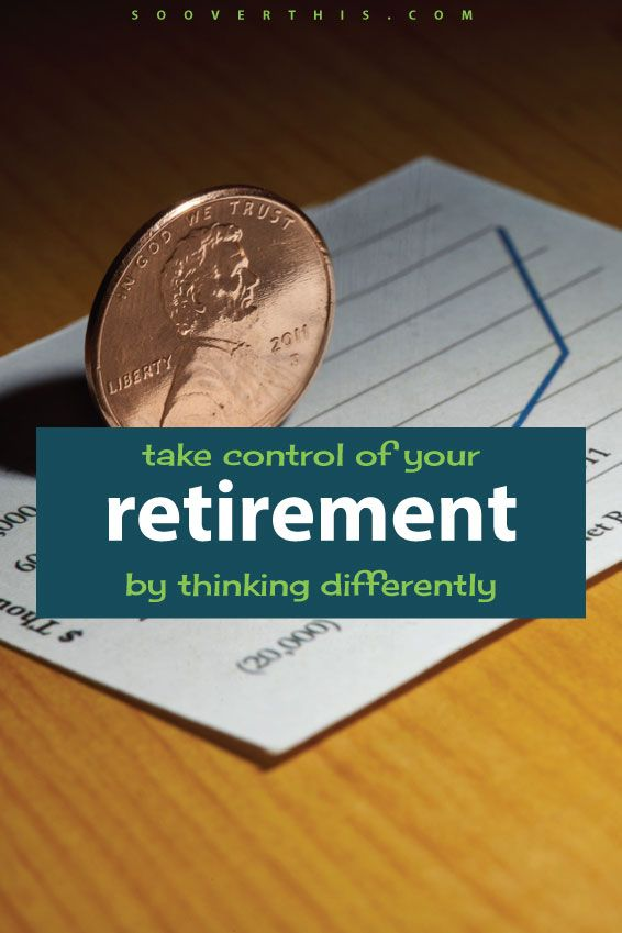 This is a great way to think outside the box about retirement. Take control of your retirement by shifting the way that you think about it. Putting aside money for future-you to be able to cover a budget is never a bad thing, and putting that money into savings strategically is definitely going to pay off in a big way.
