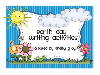 This file includes several writing activities to keep your students engaged in meaningful writing activities for Earth Day.Enjoy!~Shelley Gra...