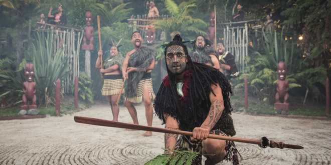 Enjoy a powerful cultural performance before dining the traditional hangi buffet feast in Tamaki Maori Village and enjoy powerful cultural performance, storytelling & hangi feasting. Source: http://www.backpackerdeals.com/new-zealand/rotorua/tamaki_maori_village_discount_evening_cultural_experience16